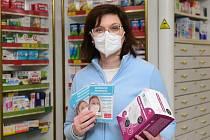 Prodej respirátorů. Ilustrační foto.