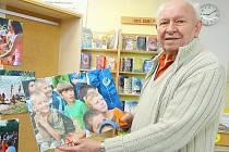 JAROSLAV MUCHA ještě v 90 letech dokázal naplnit letní tábor v Častoboři. Jeho snímky, které každý rok pořizuje u Vltavy, jsou výmluvné i beze slov.