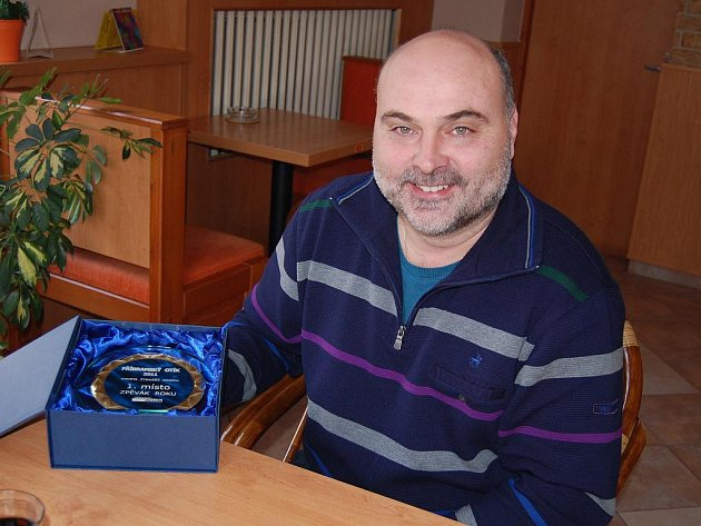Václav Plecitý z Ginevry zvítězil v hudební anketě Příbramský Otík v kategorii Zpěvák roku.