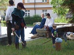 Pověst o porážce Žižkových vojsk v roce 1420 si obyvatelé Sedlčanska připomínali o víkendu na městských slavnostech Rosa.
