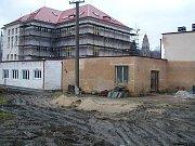 Povodně ve Štěchovicích na Příbramsku v roce 2002.