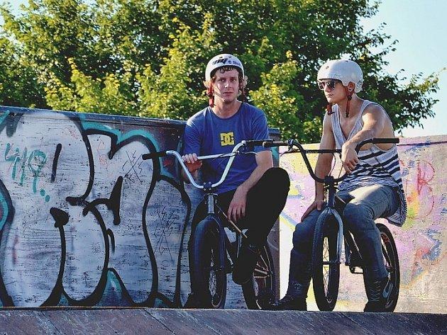 Graffiti. Skatepark. Ilustrační foto.