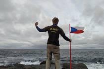 Matěj Kratochvíl se vydal pěšky do Norska.