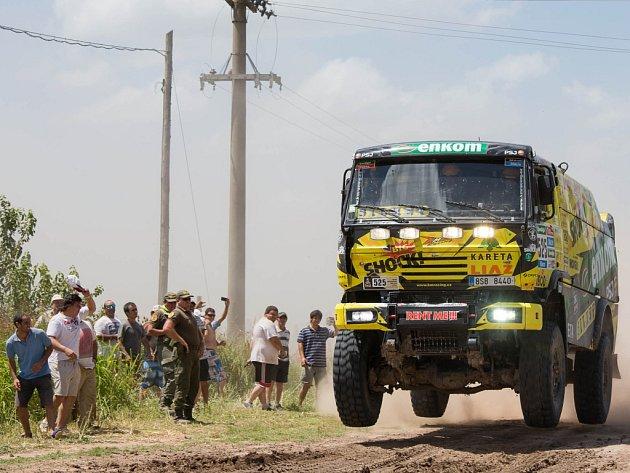 Martin Macík při Rallye Dakar 2015.