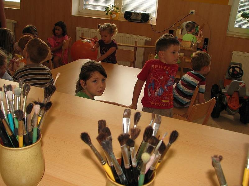 Slavnostní otevření nové školky v Obecnici.