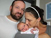KLÁRA ČORNYJOVÁ se narodila ve středu 13. září o váze 2,28 kg a míře 45 cm Jitce a Štěpánovi z Jablonné. Dětstvím ji bude doprovázet sestra Terezka.