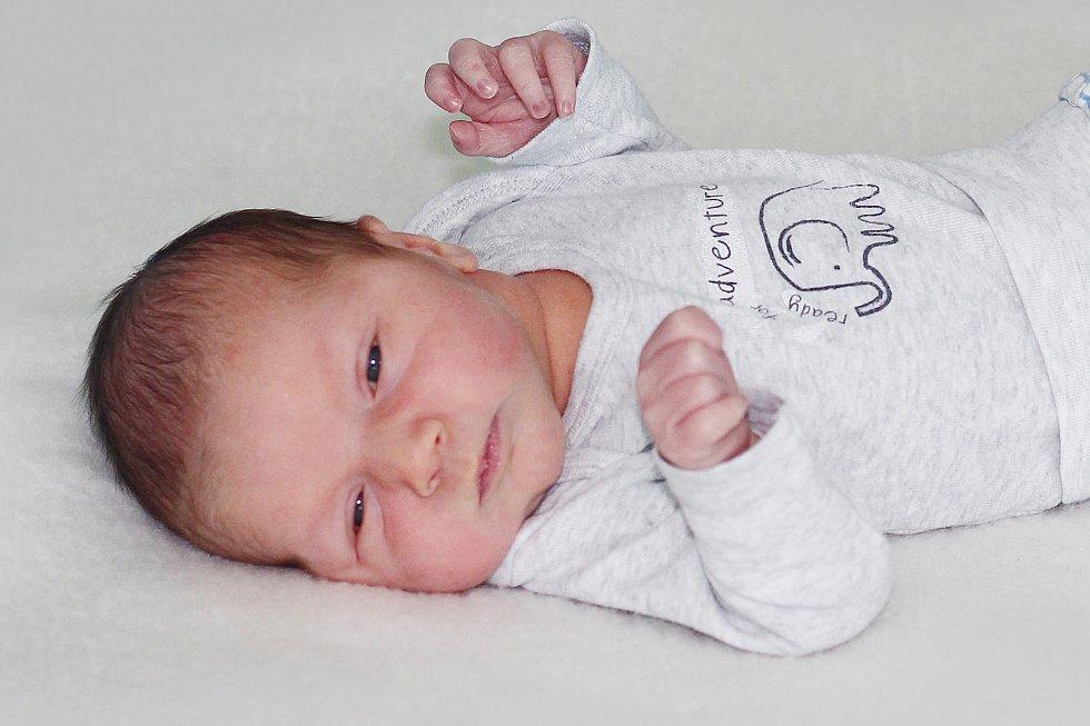 Samuel Čípel se narodil 30. prosince 2019 v Příbrami. Vážil 3910 g a měřil 52 cm. Doma ve Věšíně syna přivítali maminka Nikola a tatínek Jakub.