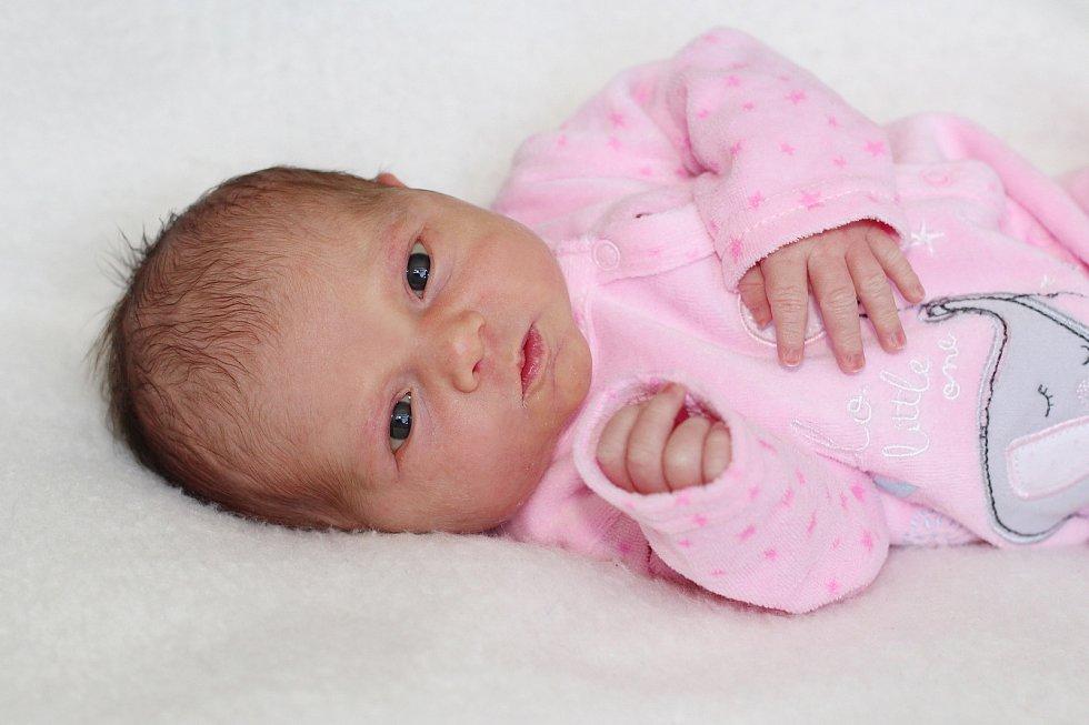 Kristina Šrámková se narodila 1. listopadu 2019 v Příbrami. Vážila 3080 g a měřila 47 cm. Doma v Příbrami ji přivítali maminka Kristina s tatínkem Petrem.