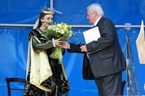 Královna navštívila Rožmitál.