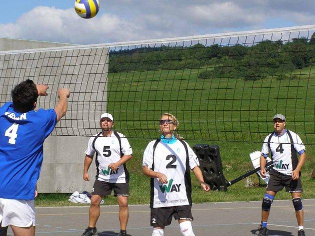 Ve Věšíně proběhl turnaj smíšených družstev ve volejbale.