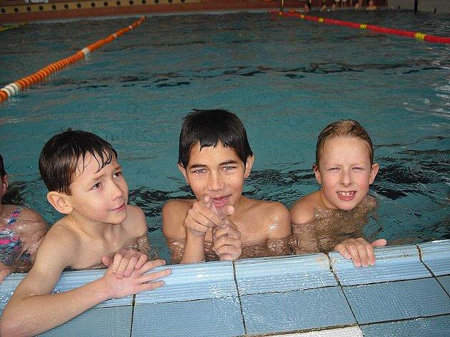 Plavecký bazén v Příbrami