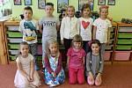 Předškoláci v mateřince v Malé Hraštici.