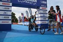 Jan Tománek absolvoval triatlonového Czechmana.