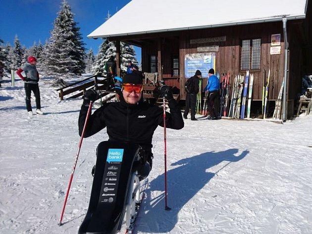 Jan Tománek se připravuje na nadcházející 51. ročník Jizerské padesátky