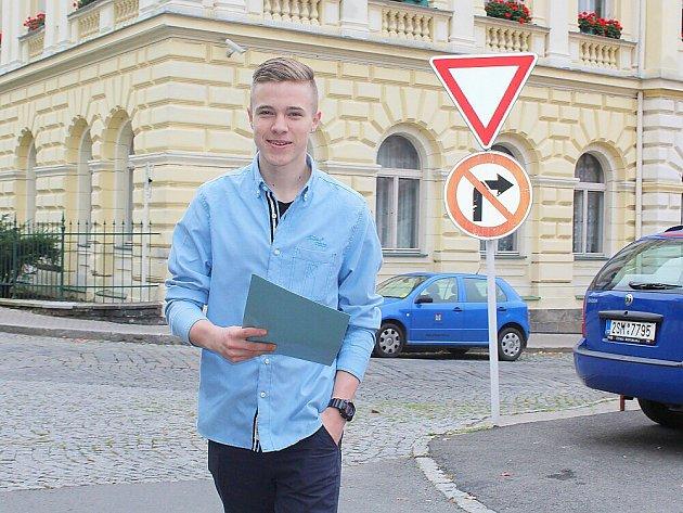David Teper z Příbrami a jeho první volby.