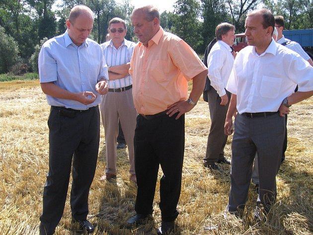 Ministr Gandalovič v Krásné Hoře