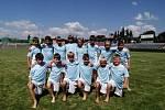 Z druhého ročníku Letního fotbalového kempu talentované mládeže OFS Příbram.