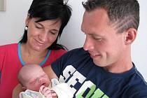Ve středu 16. května přivítali maminka Petra a tatínek Honza z Kotenčic na světě svého prvorozeného syna Jana Havelku, který v ten den vážil 3,20 kg a měřil 52 cm.
