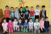 Děti v Mateřské škole Pohádka v Příbrami, třída Kytičky.
