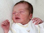 KRISTÝNKA CHARVÁTOVÁ se narodila v pondělí 15. května o váze 2,97 kg a míře 50 cm rodičům Janě a Jaroslavovi ze Svinařů.