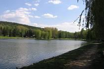Nový rybník v Příbrami