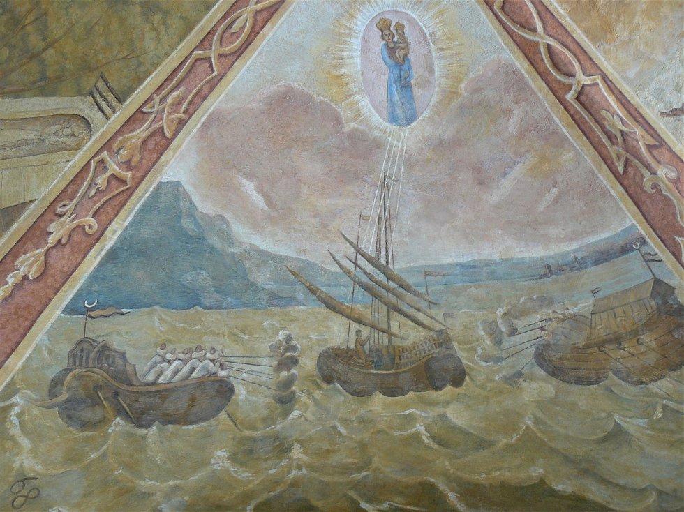 Sto svatohorských milostí: obraz číslo 62.