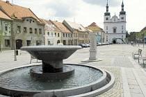 Otevření březnického náměstí.
