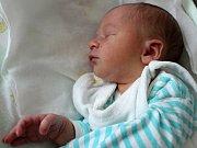 Eliáš Barhoň se narodil 15. října s váhou 3,18 kg a mírou 50 cm Aleně a Josefovi ze Sedlčan. Doma se těší bráška Patrik (6).