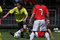 KP mužů: Spartak (červení) - Sedlčany (2:0)