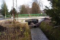 Most přes Litavku je po opravě průjezdný.