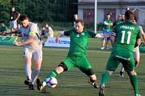 Superliga malého fotbalu Pardubice - Příbram 3:2.
