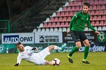 Poslední vzájemný zápas Příbrami a Slovácka se odehrál v rámci 20. kola FORTUNA:LIGY v sezoně 2020/2021 a skončil výsledkem 1:4. Za domácí do něj nastoupil například Jaroslav Tregler (vpravo) za hosty pak třeba Jan Navrátil.