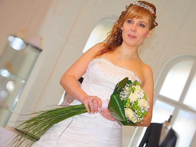 Dagmar Svašková si roli nevěsty vyzkoušela podruhé v životě.