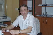 MUDr. Jan Slabý, gastroenterolog v příbramské nemocnici.