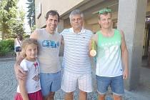 DAN Havel přivezl do Sedlčan ukázat bronzovou olympijskou medaili z Ria. Doprovázel ho otec František Havel. Před kinem, kde měl besedu, se setkal s Pavlem Bednářem, ředitelem Sportovních areálů Sedlčany a jeho dcerou.