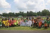 Letní turnaj mládeže OFS Příbram, který se konal v Dobříši.
