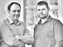 Architekti Aleš Brotánek (vlevo) a Jan Praisler.