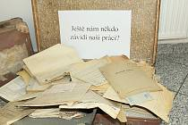 Den otevřených dveří v Okresním státním archivu Příbram.