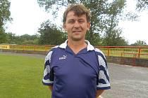 Odstupující trenér Dobříše Martin Šrain.