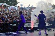 Letní festival v příjemném prostředí, přímo na pláži, byl v tropickém počasí volbou několika tisíců návštěvníků. Foto: Ondřej Navrátil