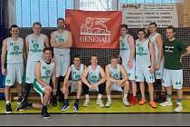Basketbalisté Příbrami porazili ve druhé lize Klatovy 111:104.