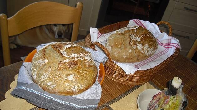 Domácí chléb.