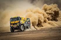 Martin Macík (na snímku) a Jan Brabec nadále srdnatě bojují s nástrahami letošního 41. ročníku Rally Dakar.