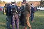 Noční pochod po stopách výsadku partyzánů ze skupiny CHALK přilákal policisty, vojáky, hasiče a další účastníky z celé České republiky.
