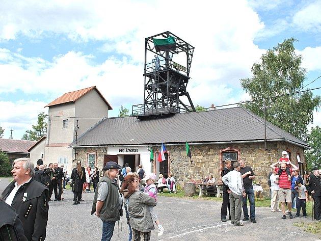 Důl Řimbaba v Bohutíně.