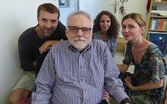 Ve čtvrtek 15. června poctil svoji návštěvou také knihovnu v Sedlčanech, kde  poskytl exkluzivně pro čtenáře Deníku rozhovor.