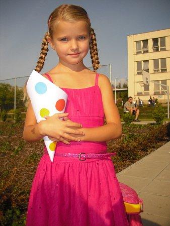 První školní den vzákladní škole ve Školní ulici.