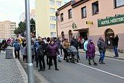 Sobotní masopustní průvod zahájil v Březnici čtyřicetidenní půst.