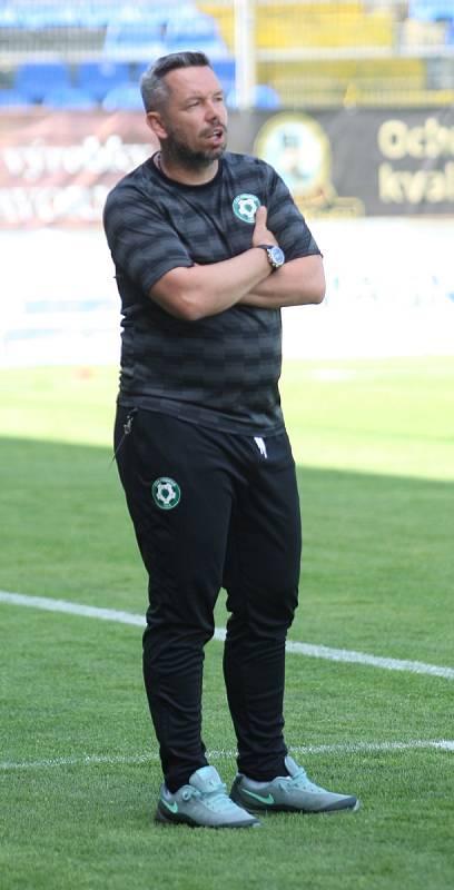 Někdejší trenér Příbrami Pavel Horváth.