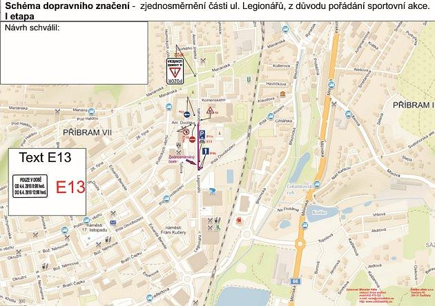 Kvůli dvojutkání českých hokejistů se Švýcary musí veřejnost počítat ve dnech 4.a 5.dubna sdopravním omezením vokolí bazénu, zimního stadionu a gymnázia.
